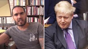 Russell Brand: 'Boris Johnson grows Jihadi Johns - he is a Jihadi John machine'
