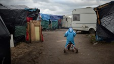 Refugee charities fear if migrants are evicted from the Calais camp, unaccompanied minors could be left in danger