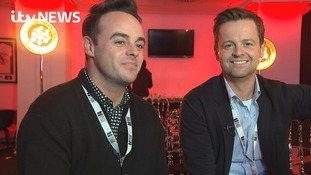 Ant and Dec warn 'capes are banned' at this year's Brits