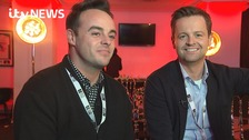 Ant and Dec speak to ITV News ahead of Wednesday's Brit Awards.