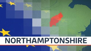 Five of the seven MPs in Northamptonshire want Britain to withdraw from the European Union.