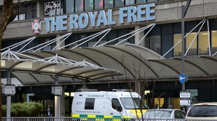 Ms Cafferkey is expected to receive treatment at the Royal Free hospital
