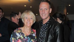 Enid Dunn with son Antony Cotton