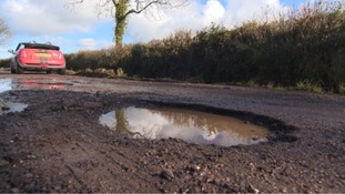 Crumbling Westcountry roads in desperate need of repair