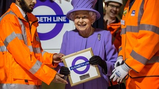 London's newest underground railway to be named after the Queen