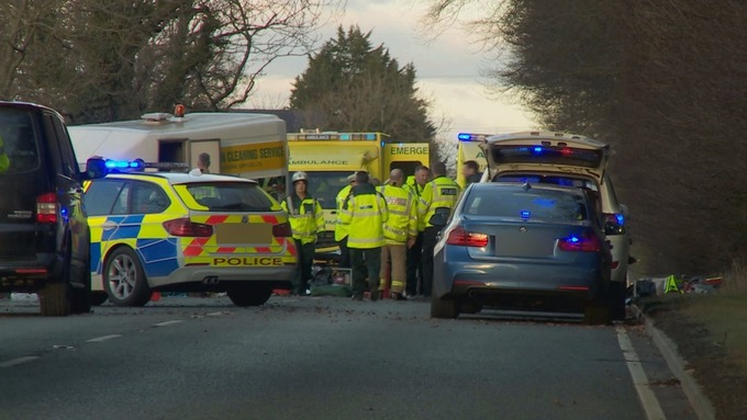 Two Women Dead And Three Injured In Two Car Crash Near Carlisle