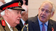 Field Marshal Lord Bramall and Field Marshal Lord Guthrie