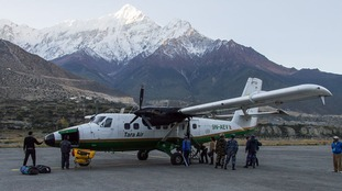A Tara Air Twin Otter aircraft