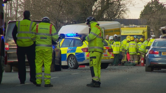 Mother And Grandmother Killed In Crash Three Year Old Boy And