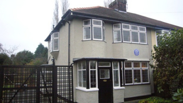 Mendips, childhood home of John Lennon