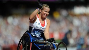 Celebrations for Paralympic athletes