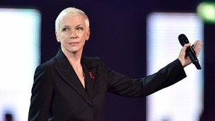 Annie Lennox said Bowie's spirit will live on 'as long as the earth spins'.