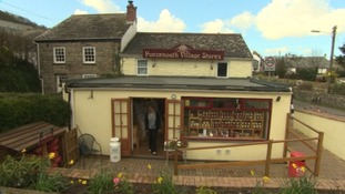 Village shop back in business after the floods