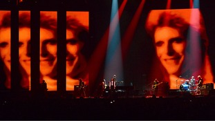Stars pay tribute to David Bowie at Brit Awards