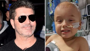 Simon Cowell surprises ill toddler's mum by calling to tell her he wants to donate £25k towards son's treatment