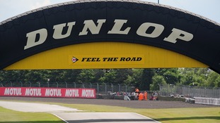 Donington's iconic Dunlop Bridge goes under the hammer