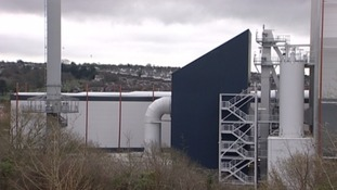 The new £250 million incinerator in Plymouth