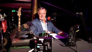 DJ Tony Blackburn while working at BBC London.
