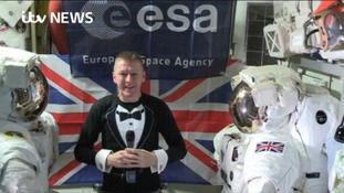 Wiltshire astronaut Tim Peake takes Brit Awards to new heights with surprise appearance