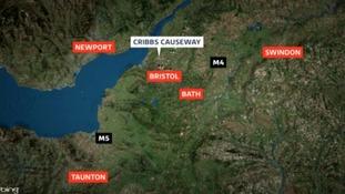 Cribbs Causeway map