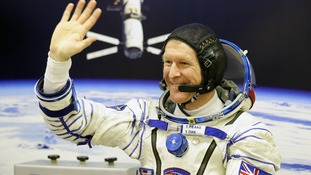 pic of Tim Peake