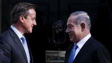 Prime Minister David Cameron and Israeli Prime Minister Benjamin Netanyahu outside 10 Downing Street last September.
