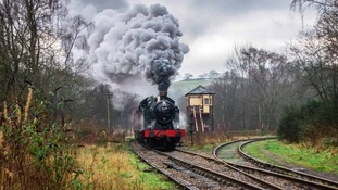 There'll be three locomotives operating services along the Churnet Valley this weekend