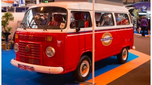 The Motorhome and Caravan Show at Birmingham's NEC