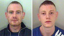 Daniel Sledden, 27, and Samuel Sledden, 22, were hauled back to court after posting on Facebook