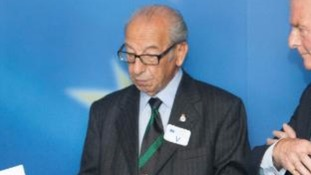 Harry Shindler MBE during a visit to the European Commission.