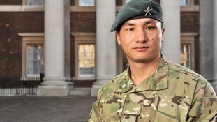 Corporal Baljit Limbu, of 2nd Battalion The Royal Gurkha Rifles