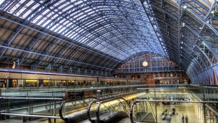 Roof of St Pancras Station