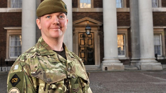 Corporal Carl Taylor, of 3rd Battalion The Mercian Regiment.