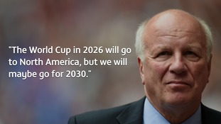 FA chairman Greg Dyke says England may lodge bid to host 2030 World Cup