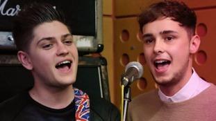 Joe and Jake to represent UK at this year's Eurovision