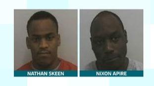 Nathan Skeen and Nixon Apire