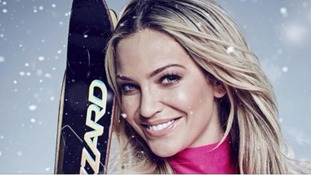 Sarah Harding leaves 'The Jump' after rupturing ligament