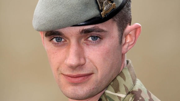 Corporal Keith Mitchell of The Royal Scots Dragoon Guards.