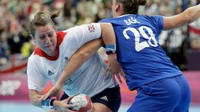 Jukes in action for Team GB