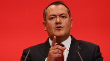 Michael Dugher has likened Mr Corbyn's appearance at the rally to Christmas for the Tories