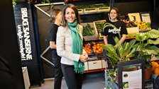The store was officially inaugurated by Denmark's Princess Marie