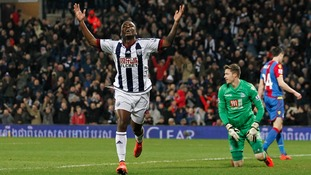 Premier League match report: West Brom 3-2 Crystal Palace