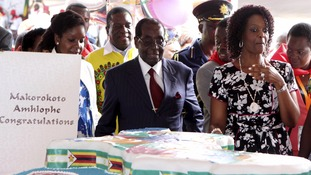 Robert Mugabe holds $1m birthday party in drought-hit Zimbabwe
