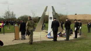 Memorial for those killed in first Gulf War unveiled