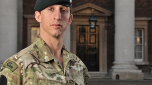 Serjeant Deacon Daniel Cutterham from The Rifles.
