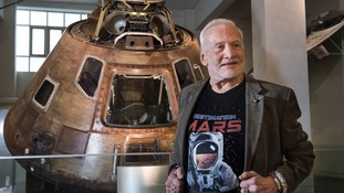 "Dr Aldrin believes getting to Mars itself is the ""easy part"""