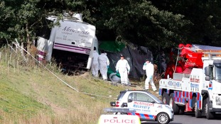 Ten remain in hospital following Surrey coach crash