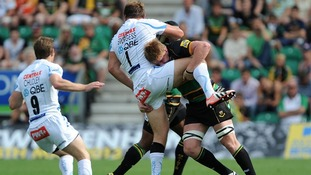 van Velze: Will sit out the Bath clash