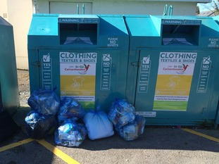 Illegal rubbish dumping