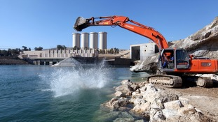 Iraq has played down fears the Mosul dam could collapse, but precautions are still being taken